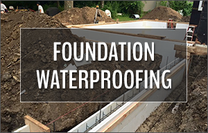 Foundation Waterproofing - Nate Lawler Concrete