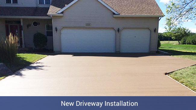New Driveway Installation - Nate Lawler Concrete
