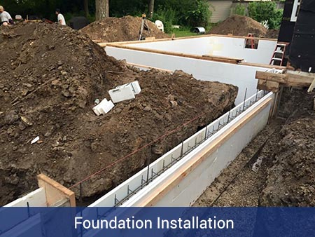 Foundation Installation - Nate Lawler Concrete