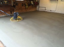 Basement Floor Installation